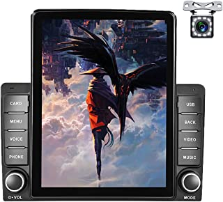 $119 » Double Din Car Stereo 9.5''Vertical Screen Car Radio Car MP5 Player with Bluetooth FM Radio Receiver Support Mirror Link/S...