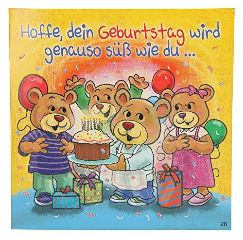 Depesche 3868.028 Glückwunschkarte mit Musik, Geburtstag, Mehrfarbig