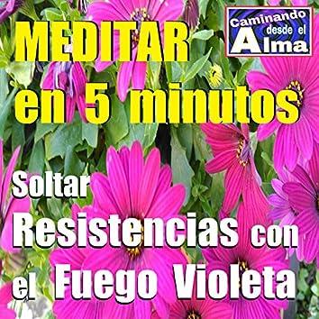 Meditar en 5 Minutos. Soltar Resistencias Con el Fuego Violeta