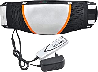 Slimming Belt Electric Vibration Massage Machine Lose Weight Burning Fat Heating Fitness S Shape Body Figure Waist Trainer