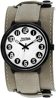 505bb1884471c Jean-Paul Gaultier - Montre Homme Bracelet Cuir Beige (8504702)