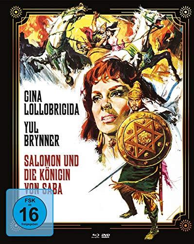 Salomon und die Königin von Saba - Mediabook Cover A (+ DVD) [Blu-ray]