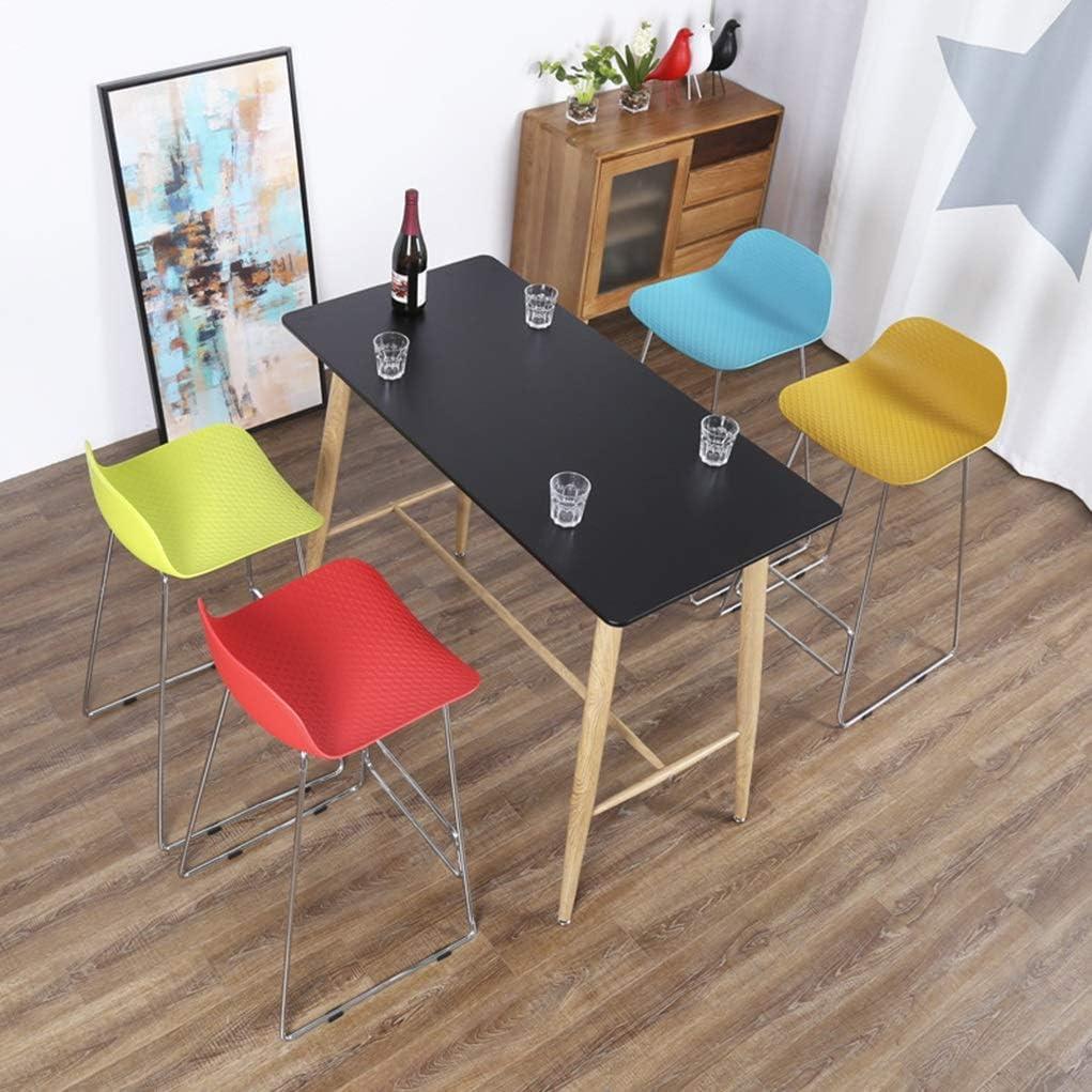 Chaise de Salle à Manger Tabouret de bar Chaise de bar Chaise de bar Chaise de restaurant en métal (Color : Green) White