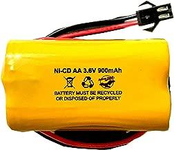 ELBB001 Lithonia ELB-B001 ELB B001 Unitech AA900MAH 3.6v 900mAh Exit Sign Emergency Light NiCad Battery Replacement Batteryhawk, LLC Interstate ANIC1566 Unitech 0253799