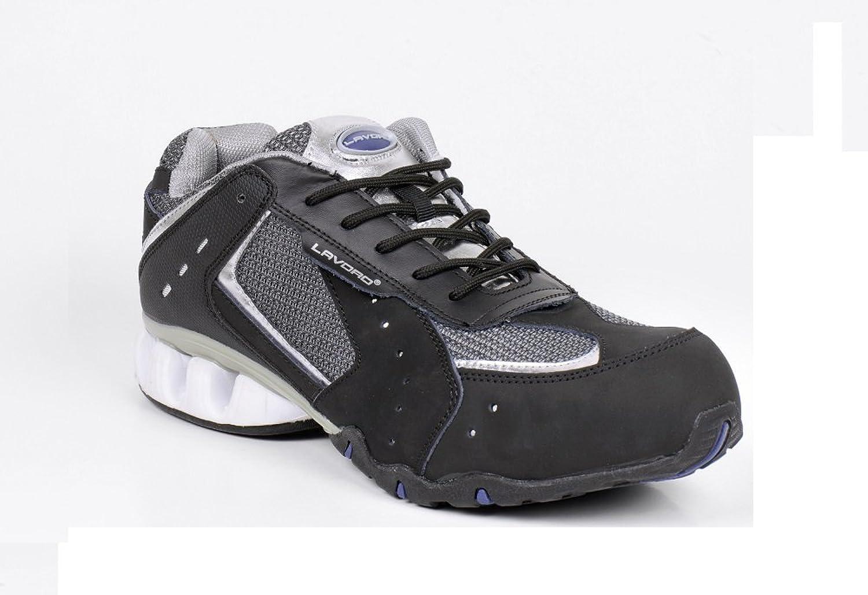 Lavgold Unisex-Adult Safety shoes - EN safety certified, Black