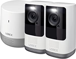 Lorex 2K QHD�Smart Wire-Free Security System with Person Detection