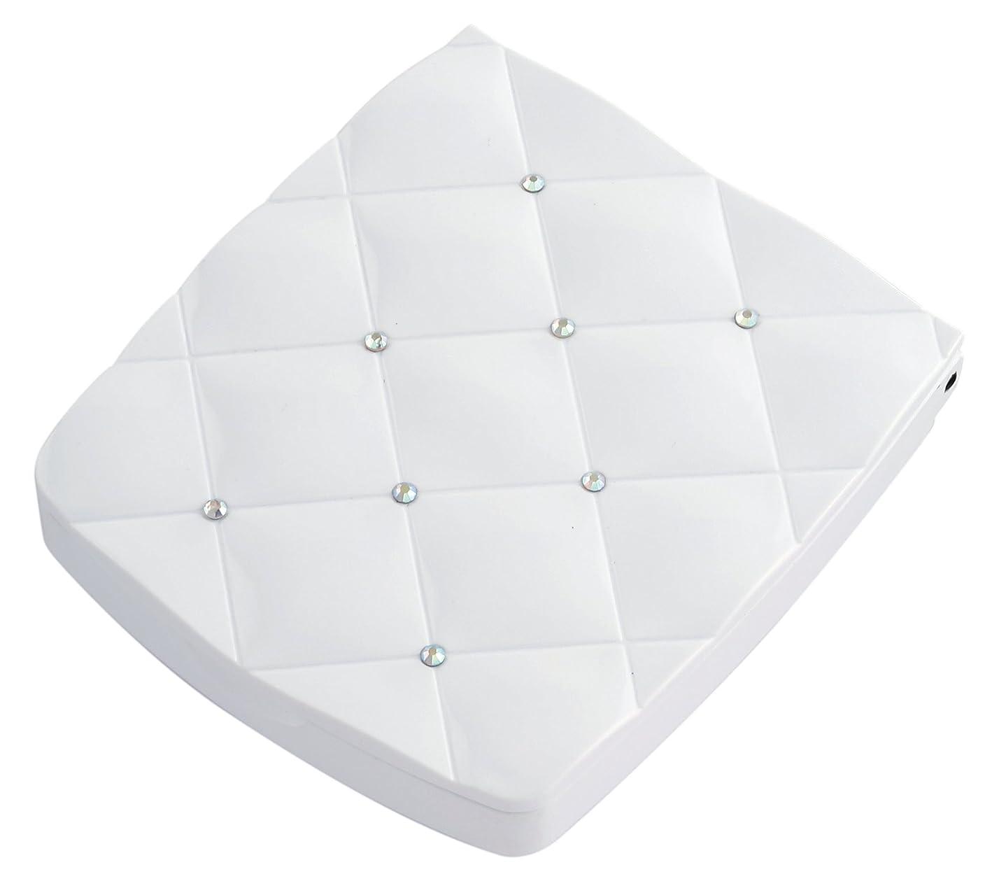 発揮する縫うジョージエリオット貝印 LED付き約5倍拡大鏡 S 白 KQ0335