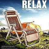 HOUADDY Relax-Liegestuhl, Gartenstuhl mit Liegefunktion, Terrassenstuhl mit Armlehne,Sonnenliege, Saunaliege, Campingstuhl, Klappbar und verstellbar, Aluminium Stuhl in anthrazit, Stahl