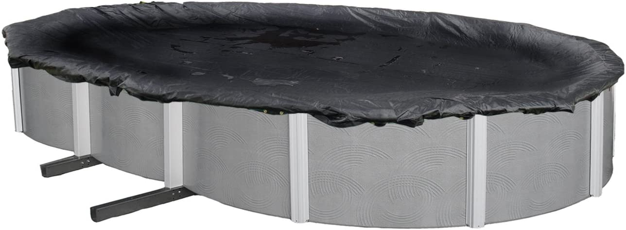 Max 87% OFF Blue Wave BWC632 100% quality warranty Rugged Mesh Above Ground x 32-ft Oval W 16 Pool