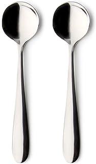 18 x 3.5 x 1.5 cm Mirror Stainless Steel Grunwerg Windsor Carded Serving Spoon