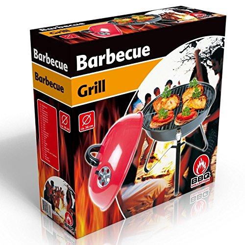 BBQ Collection 48675 Barbecue Charbon de Bois Acier