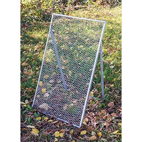 GeZu Impex® Durchwurfsieb 100 x 60 cm Erdsieb, Gartensieb, Kompostsieb metall
