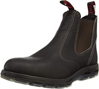 Redback Boots Dark Brown UBOK Leather Chelsea Boot