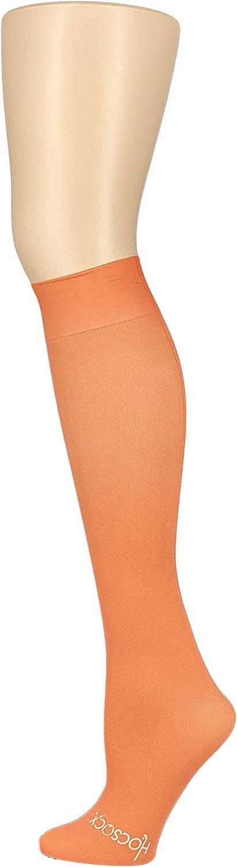 HOCSOCX Boys/Mens Sports Performance UNDER Socks (MEDIUM/LARGE, Orange)