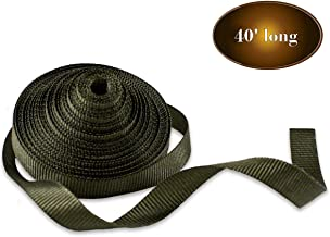 """DC Cargo Mall 3/4"""" x 40' SmartStake Tree Tie-Down Staking Strap Material   Loose Polyester Webbing to Guy and Stake Trees   DIY Landscaping - Custom Length TieDown Ribbon Straps"""