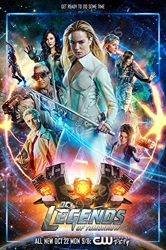 DC/'s Legends of Tomorrow Wall Art Poster Print A3 A4 Sections or Giant 1 Piece