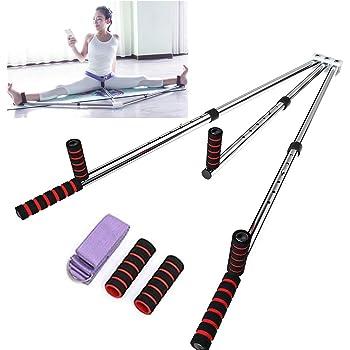 OTEKSPORT 3 Bar Leg Stretcher Heavy Duty Gymnastic Portable Flexibility Stretching Machine Stretch Strength Training Leg Machines Yoga Exercise Gym