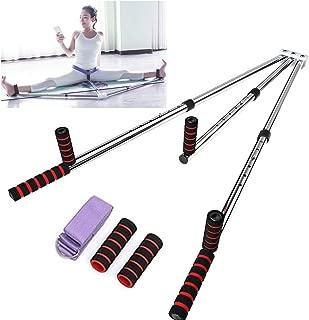 3 Bar Leg Stretcher Heavy Duty Gymnastic Portable Flexibility Stretching Machine Stretch Strength Training Leg Machines Yoga Exercise Gym