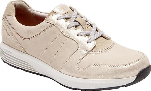 Rockport Derby Trainer Chaussures Femme, Femme, 38.5 XW EU, Stone Multi  magasin de gros