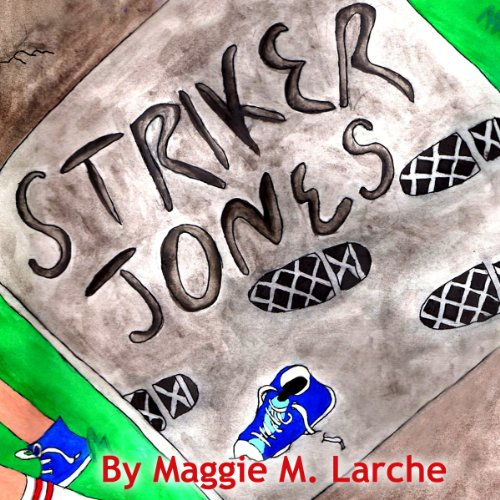 Striker Jones audiobook cover art