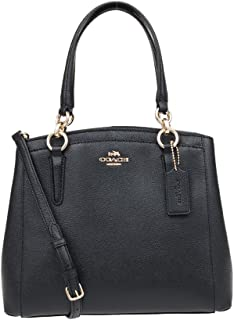 COACH Crossgrain Leather Minetta Crossbody Shoulder Bag