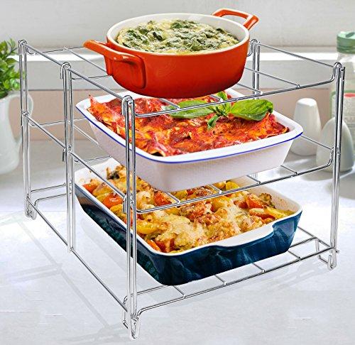 Estilo 3Tier horno hornear y refrigeración accesorio de