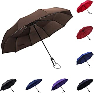 WILLIAM&KATE Personality Middle Finger Umbrella Creative Folding Windproof Anti-UV Umbrella Lightweight Travel Black Umbrella