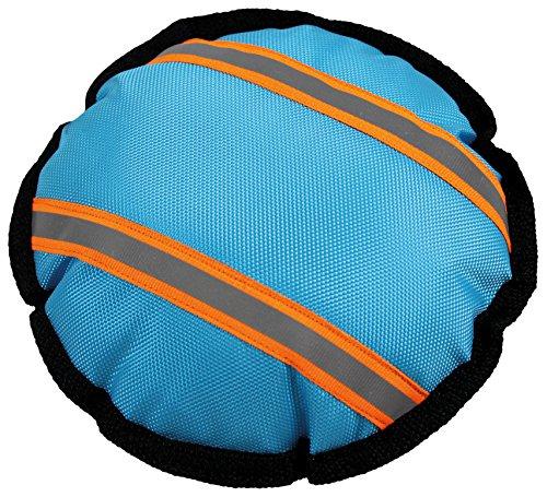 Perfecto Dog 1443 Hunde-Wasserspielzeug Wurfscheibe, 21 cm, blau/orange
