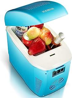 WEI-LUONG mini 7.5L Car Refrigerator Mini Small Refrigerator Hot and Cold Box Small Student Dorm Small Refrigerator Room I...