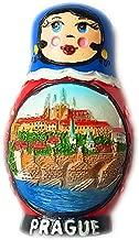 Czech Republic Magnet Souvenirs Prague 3D Refrigerator Fridge Magnets Souvenir Sticker Kitchen Resin