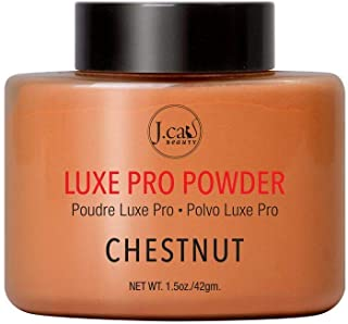 J.Cat Beauty Luxe Pro Powder, 1.5 Ounce - LPP104 Chestnut