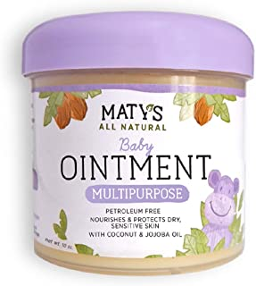 Sponsored Ad - Maty's All Natural Multipurpose Baby Ointment - Petroleum & Fragrance Free - Made with Coconut & Jojoba Oil...