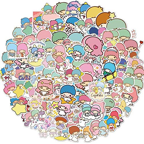 WANGPENG Toy Planet Anime Pegatina para Nevera, Nevera, monopatín, Equipaje para Ordenador portátil, 100 Piezas