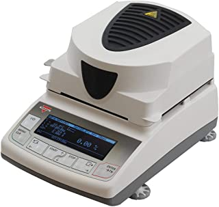 Torbal ATS60 Moisture Analyzer, 0.01% Readability, 160C, 60g x 0.001g, Backlit Graphical LCD Display, USB Interface, Compact Design, 4 Drying Modes