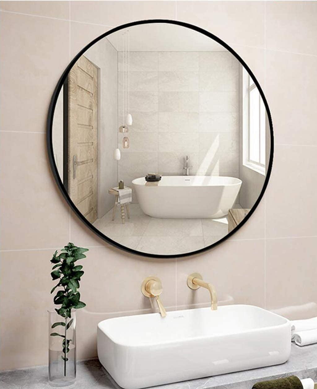YMLSD Sale Special Price Mirrors Round Wall Mounted Circle Vanity Ranking TOP13 Lar Makeup Mirror