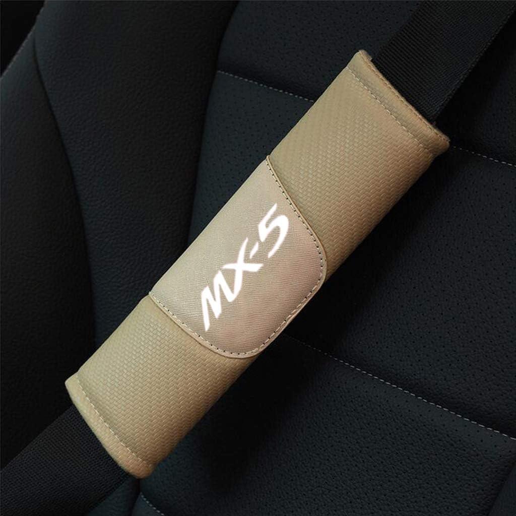 TDPQR 2 Pezzi Cuscinetto Cintura di Sicurezza Auto,Ricamo Logo del Marchioautomobilistico Spalla Copertura di Sicurezza PerDacia Duster Logan Sandero Lodgy Stepway Mcv Interno Accessori