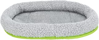 Trixie 62702 knuffelbed voor kleine dieren, 30 × 22 cm, Grijs/Groen