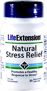 Natural Stress Relief 30 VegiCaps (Pack of 2)