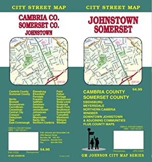 Johnstown, PA / Somerset / Cambria & Somerset Counties Street Map