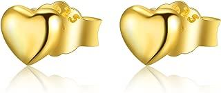 Best heart shaped studs Reviews