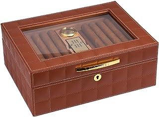 Humidors Inomhus Hushållsfuktande Cigarrskåp Konstant temperatur Fuktande Liten Mini Mellow Lätt att bära