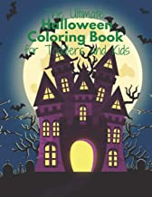 The Ultimate Halloween Coloring Book for Toddlers and Kids: Fun Children's Gift or Present for Kids - 50 lovely Pages to C...