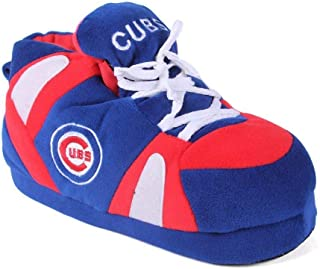 Happy Feet Mens and Womens Officially Licensed MLB Sneaker Slippers