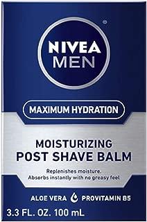 Nivea Replenishing Post Shave Balm by Nivea for Men - 3.3 oz After Shave, 100 ml