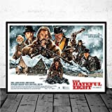Canvas Prints, Poster The Hateful Eight Classic Movie