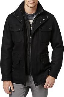 3ce22ea01265 Michael Michael Kors Mens Big   Tall Wool Attached Bib Field Coat