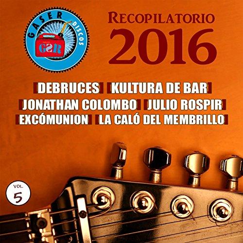 Recopilatorio Gaser Discos 2016, Vol. 5