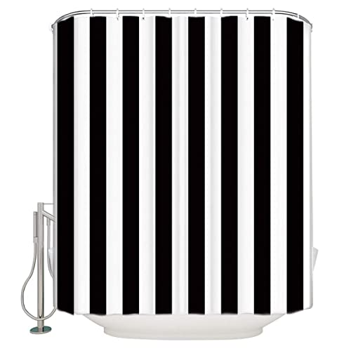 Black And White Striped Curtains Amazoncom
