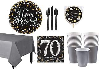 70th birthday party checklist