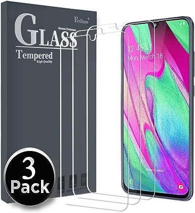 Ferilinso Vetro Temperato per Samsung Galaxy A40,[3 Pack] Pellicola Protettiva Protezione Schermo in Vetro Temperato Screen Protector Film con Garanzia di Sostituzione a Vita